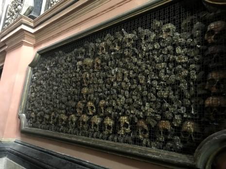 More skulls in San Bernardino alle Ossa